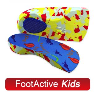 FootActive Kids - Innleggssåler for barn